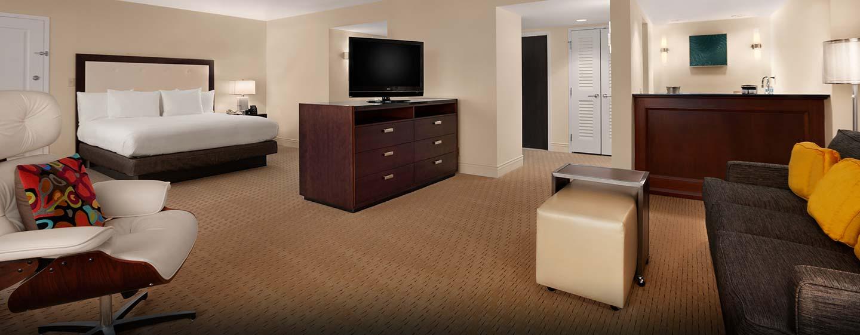 ie großen Deluxe Zimmer verfügen über einen schönen Wohnbereich