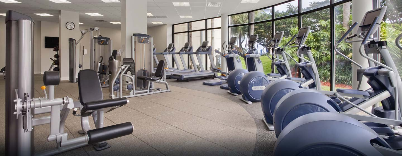 Hilton Miami Airport Hotel, Florida – Fitnessstudio