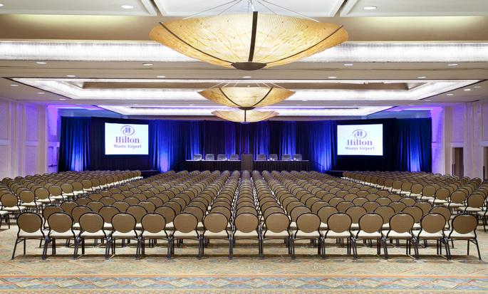 Hotel Hilton Miami Airport Blue Lagoon, Florida - Espacio para eventos