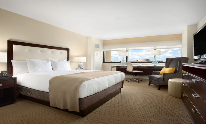 Hotel Hilton Miami Airport Blue Lagoon, Flórida - Quarto King