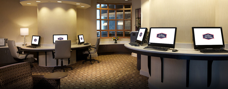Hotel Hampton Inn & Suites Miami/Brickell-Downtown, FL - Centro de negocios