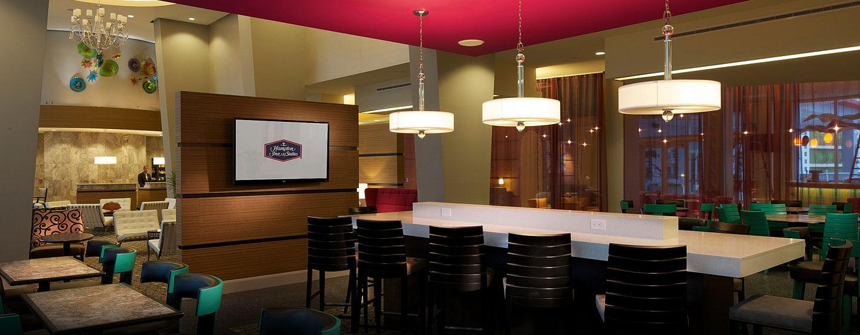 Hotel Hampton Inn & Suites Miami/Brickell-Downtown, FL - Área de desayuno