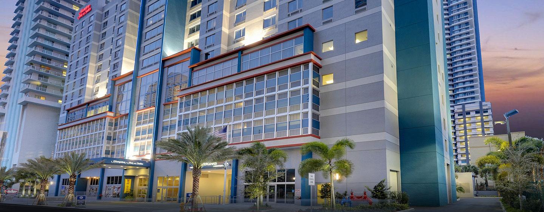 Hotel Hampton Inn & Suites Miami/Brickell-Downtown, Flórida - Exterior do hotel