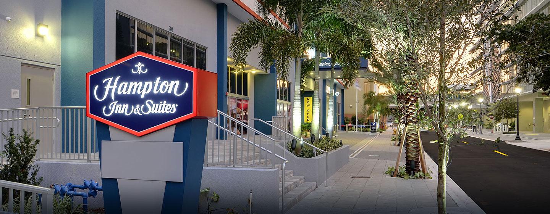 Hotel Hampton Inn & Suites Miami/Brickell-Downtown, FL - Entrada