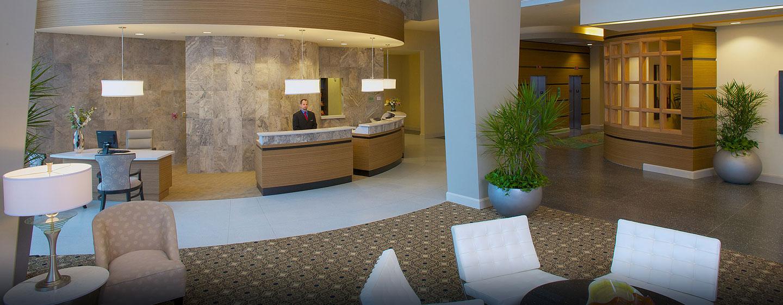 Hotel Hampton Inn & Suites Miami/Brickell-Downtown, FL - Lobby y recepción