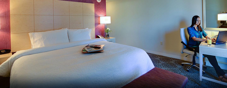 Hotel Hampton Inn & Suites Miami/Brickell-Downtown, FL - Habitación con cama King