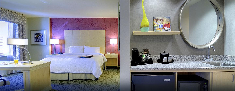 Hotel Hampton Inn & Suites Miami/Brickell-Downtown, FL - Suite con bañera de hidromasaje