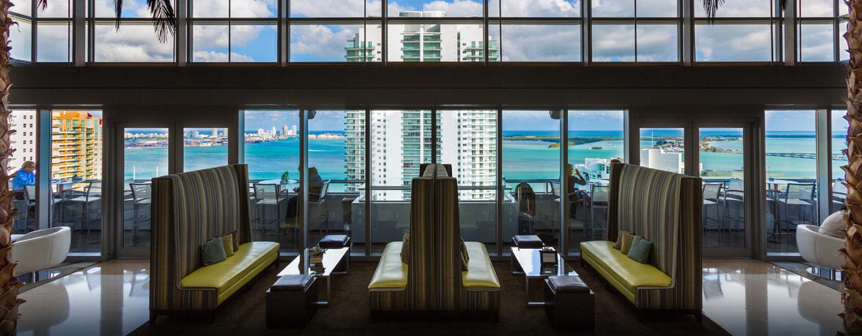 Hotel Conrad Miami, Flórida - Sky Lobby