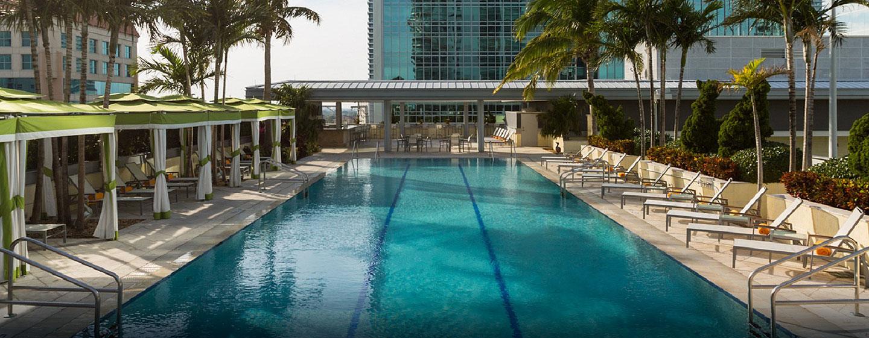 Hotel Conrad Miami, Florida - Piscina