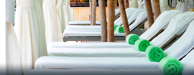 Hotel Conrad Miami, Florida - Cabana de la piscina en la última planta