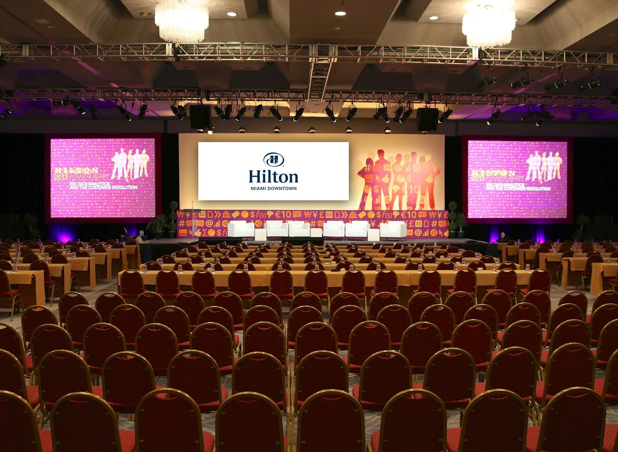 Hotel Hilton Miami Downtown, EUA - Salón de fiestas