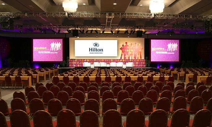 Hôtel Hilton Miami Downtown, États-Unis - Salle de réception
