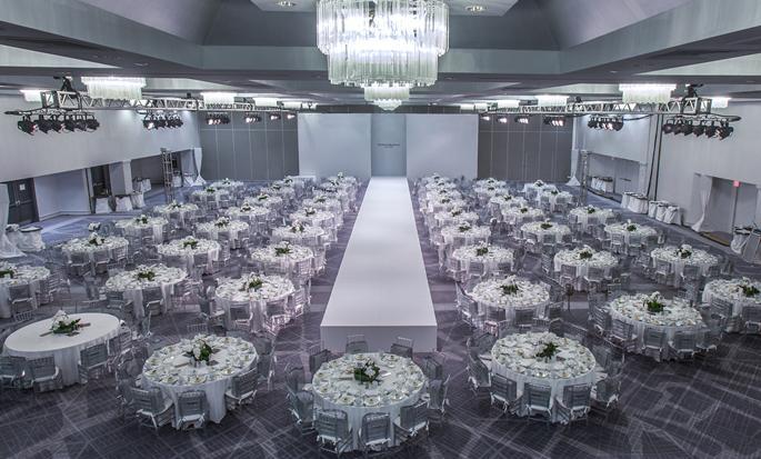 Hôtel Hilton Miami Downtown, États-Unis - Configuration de mariage