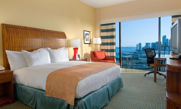 Hilton Miami Downtown Hotel, USA - King Room