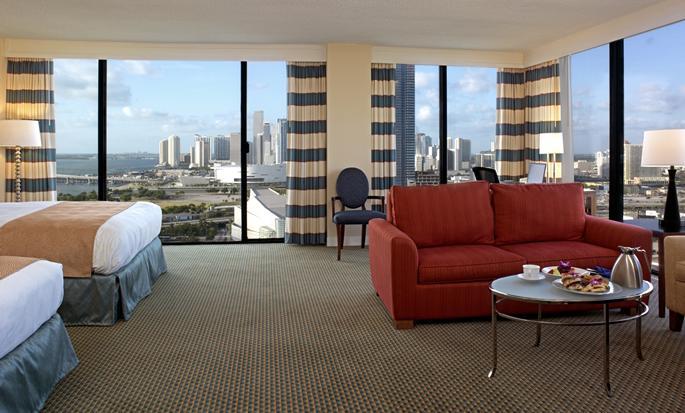 Hilton Miami Downtown Hotel, USA - Double Queen Room