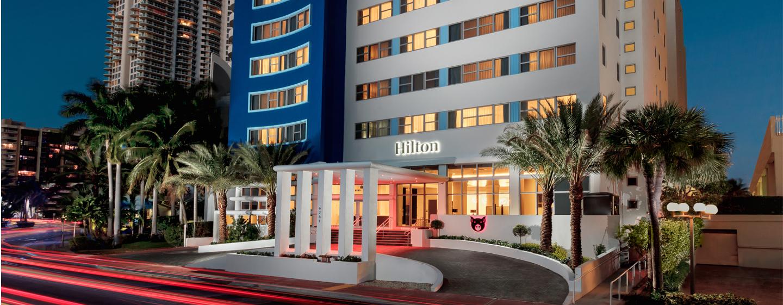 Hilton Cabana Miami Beach Hotel - Exterior do hotel