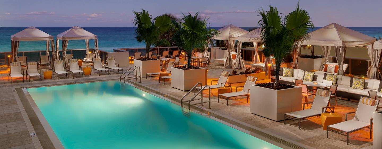 hoteles en miami beach - hotel hilton cabana miami beach