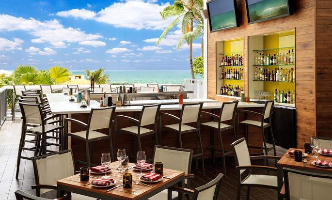 Hotel Hilton Cabana Miami Beach, E.E.U.U. - Restaurante
