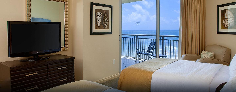 Hotel DoubleTree by Hilton Ocean Point Resort & Spa - North Miami Beach, FL - Habitación doble
