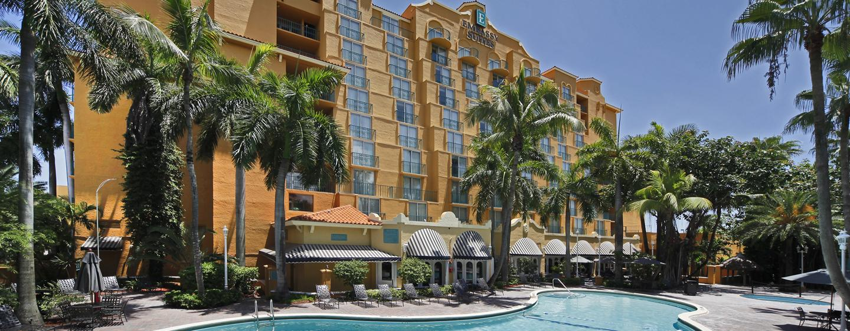 Hôtel Embassy Suites Miami - International Airport, Floride - Extérieur de l'hôtel