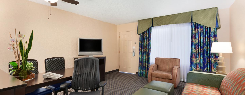 Embassy Suites Miami - Aeroporto Internacional, Flórida - Área de sentar