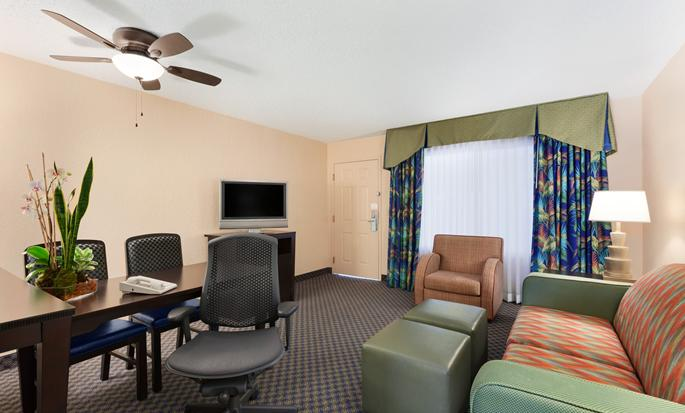Embassy Suites Miami - International Airport, Florida - Suite Living Area