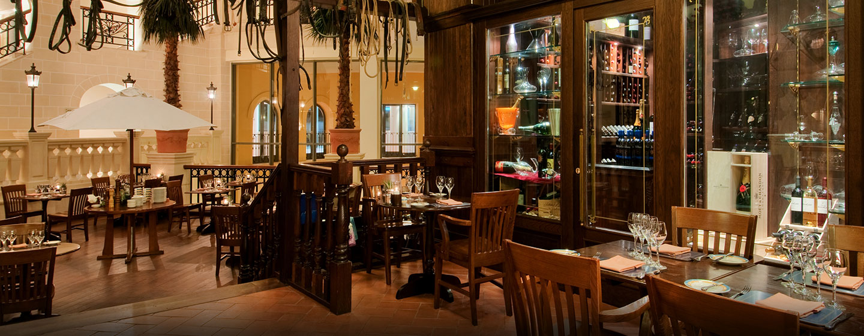 Im Luxushotel Hilton Malta befinden sich 5 verschiedene Restaurants