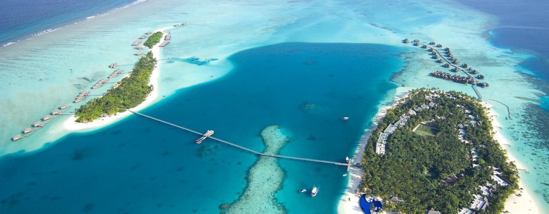 Conrad Maldives - Pemandangan dari Udara