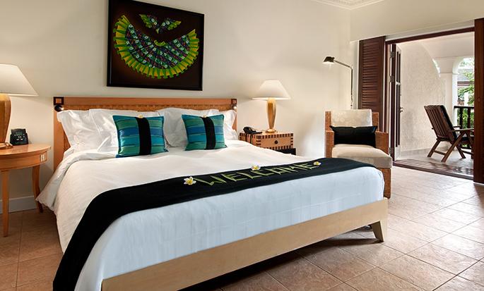 Hôtel Hilton Mauritius Resort & Spa, Maurice - Chambre pour personnes à mobilité réduite avec très grand lit