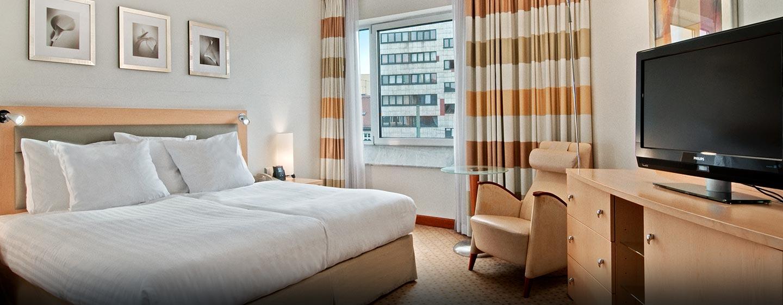 Das Hotel verfügt über barrierefreie Zimmer und auch Asistenztiere sind erwünscht