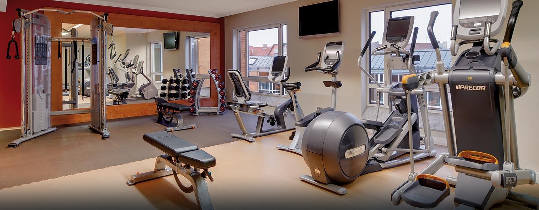 Trainieren Sie in unserem gut ausgestatteten Fitness Center