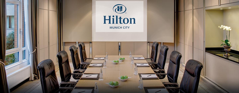 Wählen Sie aus 9 kombinierbaren Meetingräumen für bis zu 300 Personen
