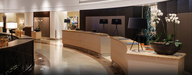 Hotel Hilton Munich Park, Germania - Reception nella lobby