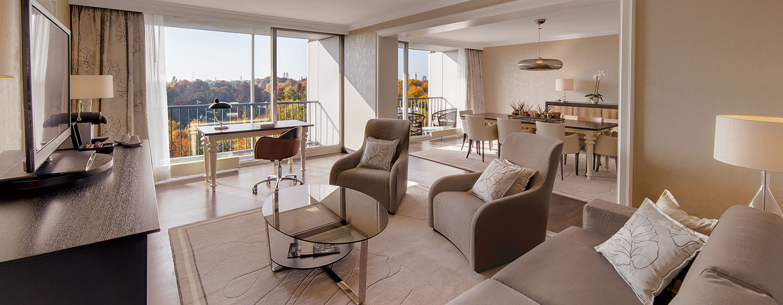 Hotel Hilton Munich Park, Germania - Suite Deluxe con vista panoramica