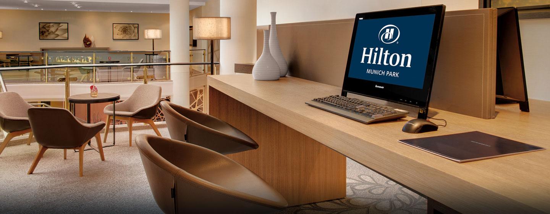 Hotel Hilton Munich Park, Germania - Business Center