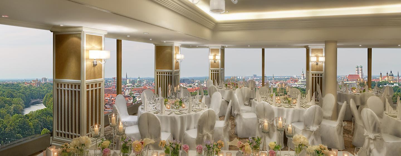 Veranstalten Sie wunderschöne Hochzeiten oder andere Events im Salon Marco Polo