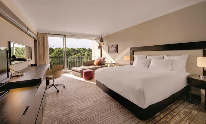 Hilton Munich Park, Duitsland - Hilton King kamer