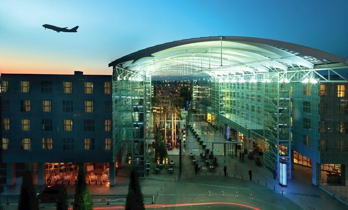 Hôtel Hilton Munich Airport, Allemagne - Extérieur de l'hôtel