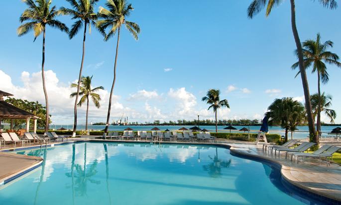 British Colonial Hilton Nassau, Bahamas - Piscina al aire libre