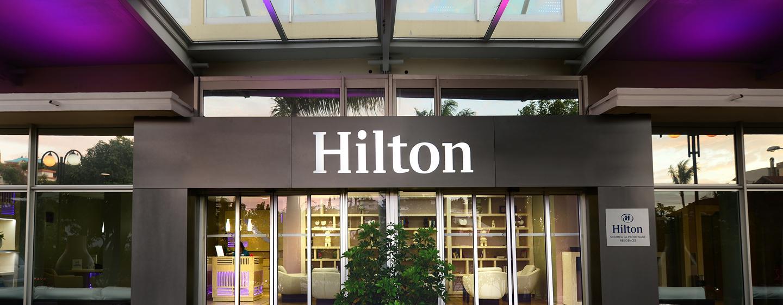 Hôtel Hilton Noumea La Promenade Residences, Nouvelle Calédonie - Entrée de l'hôtel