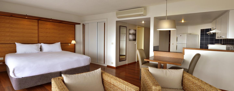 Hôtel Hilton Noumea La Promenade Residences, Nouvelle Calédonie - Studio avec très grand lit