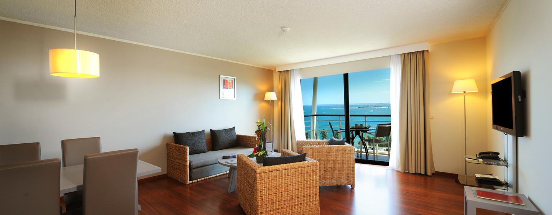 Hôtel Hilton Noumea La Promenade Residences, Nouvelle Calédonie - Coin salon