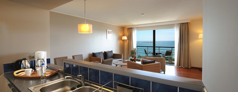 Hôtel Hilton Noumea La Promenade Residences, Nouvelle Calédonie - Cuisine