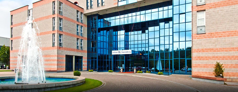Herzlich Willkommen im Hilton Nuremberg Hotel