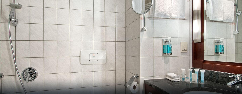 Unsere Badezimmer sind alle mit Badewanne ausgestattet
