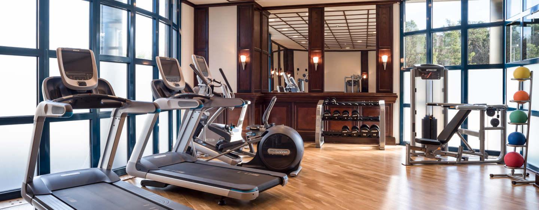 Trainieren Sie auch auf Reisen im Fitness Bereich