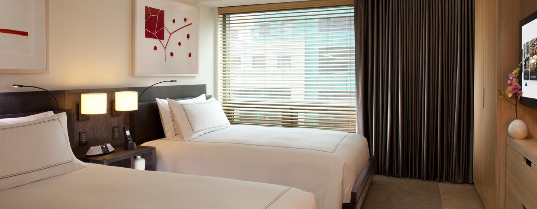Bei einem Aufenthalt zu zweit, bieten wir Ihnen gern ein Zimmer mit zwei Einzelbetten an
