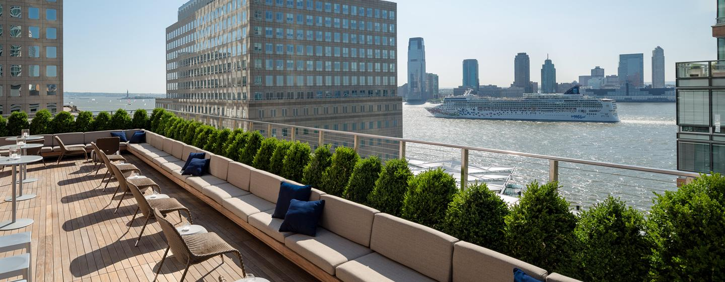 Hotel Conrad New York, Stati Uniti - Loopy Doopy Rooftop Bar