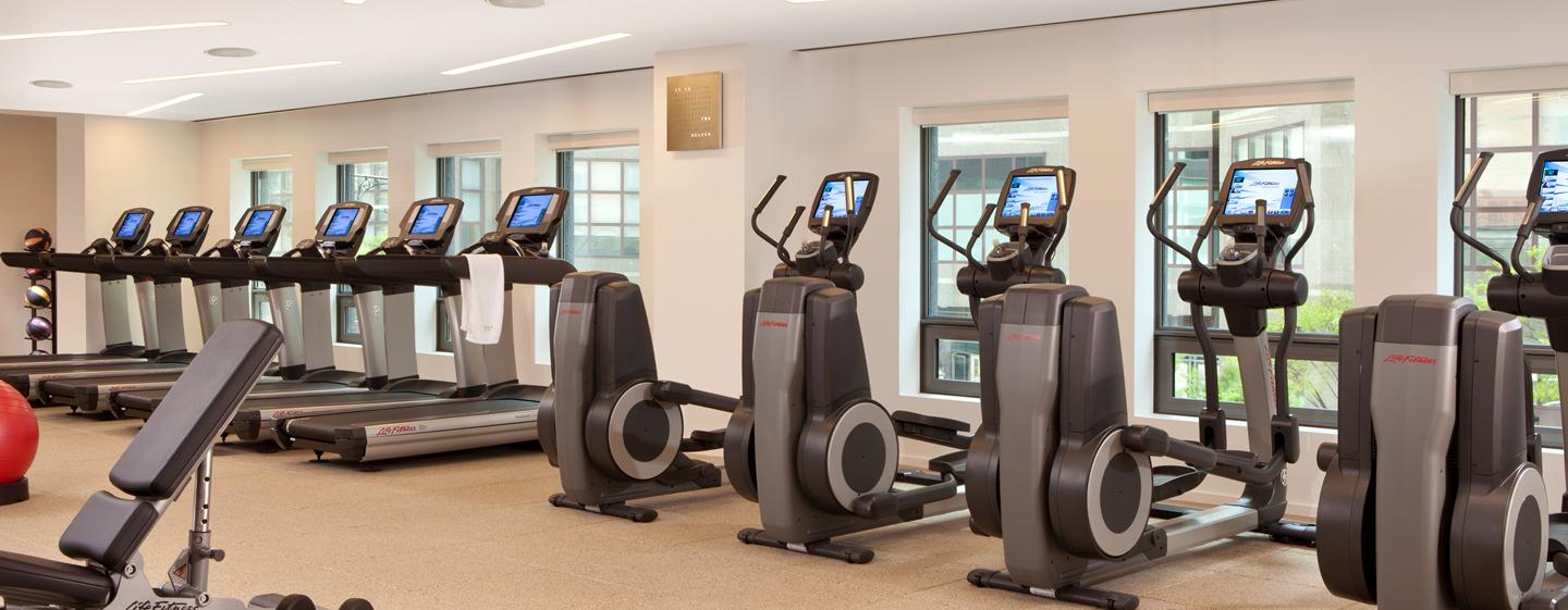 Hotel Conrad New York, Stati Uniti - Fitness center aperto 24 ore su 24
