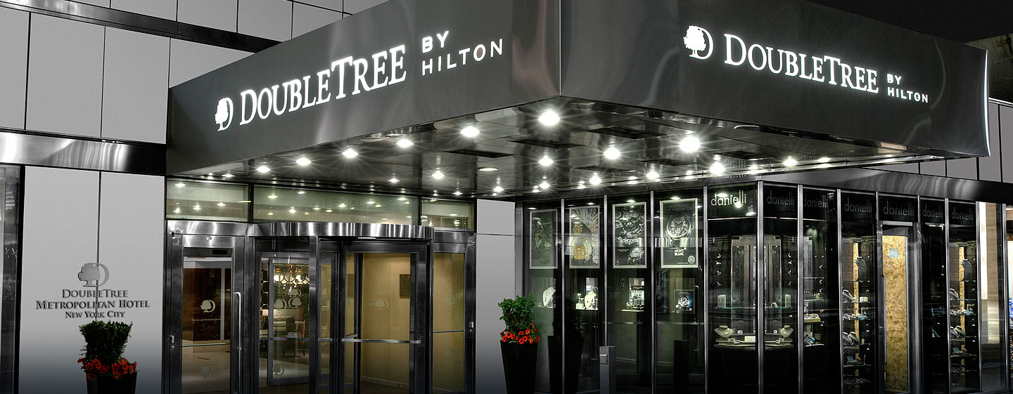 Hotel DoubleTree by Hilton Metropolitan – New York City, NY – Außenbereich des Hotels